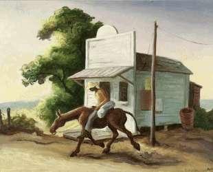 Boy on a Mule — Томас Гарт Бентон