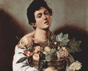 Мальчик и корзина с фруктами — Караваджо
