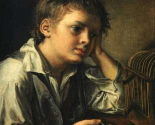 Boy with a Dead Goldfinch — Василий Тропинин