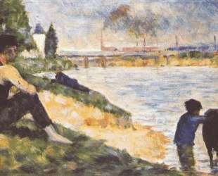 Мальчик с лошадью — Жорж Сёра