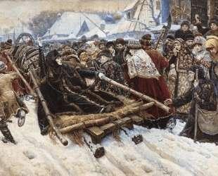 Боярыня Морозова — Василий Суриков