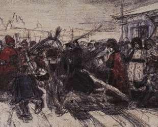 Боярыня Морозова (этюд) — Василий Суриков