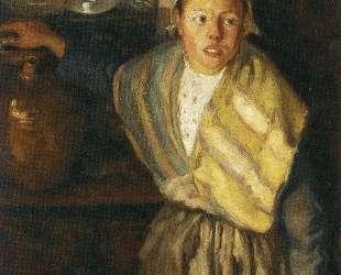 Breton Girl — Диего Ривера
