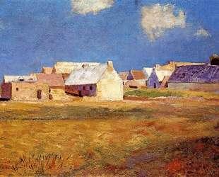 Breton Village — Одилон Редон