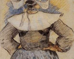 Бретонская женщина — Поль Гоген