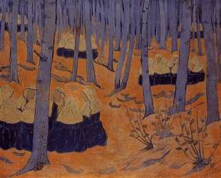 Breton Women, the Meeting in the Sacred Grove — Поль Серюзье