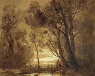 Brook in a Forest — Фёдор Васильев