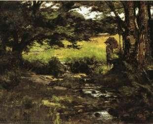 Brook in Woods — Теодор Клемент Стил