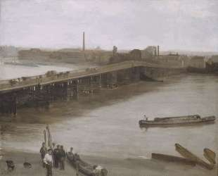 Brown and Silver: Old Battersea Bridge — Джеймс Эббот Макнил Уистлер