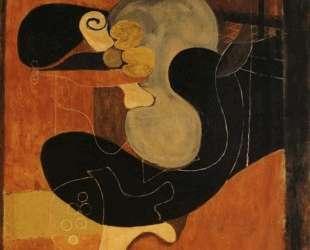 Коричневый натюрморт — Жорж Брак