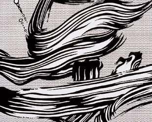 Мазки кисти — Рой Лихтенштейн