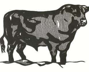 Бык I — Рой Лихтенштейн