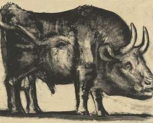 Bull (plate III) — Пабло Пикассо