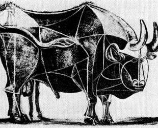 Bull (plate IV) — Пабло Пикассо