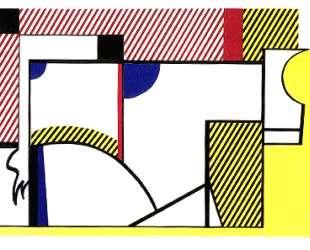 Бык VI — Рой Лихтенштейн