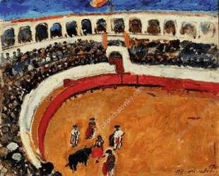 Бой быков в Севилье — Пётр Кончаловский