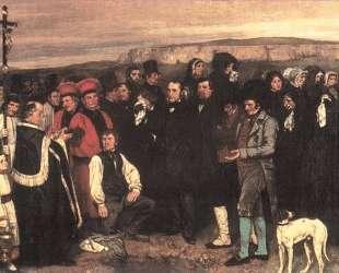 Похороны в Орнане — Гюстав Курбе