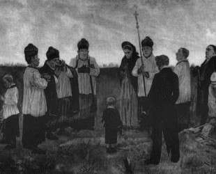 Burial in the Walloon Country — Фелисьен Ропс
