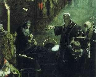 Burial of Alexander Nevsky — Генрих Семирадский