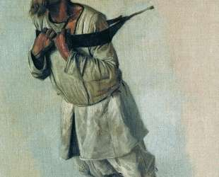 Burlak who hold hands on the strap — Василий Верещагин
