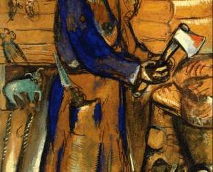 Мясник — Марк Шагал