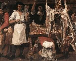 Butcher's Shop — Аннибале Карраччи