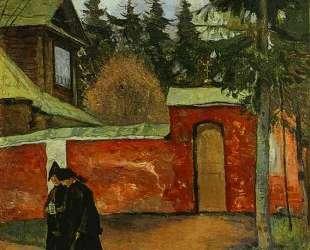 By a Monastery Entrance — Михаил Нестеров