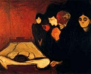 У смертного одра (Лихорадка) — Эдвард Мунк