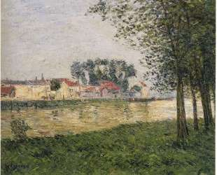 By the Oise at Parmain — Гюстав Луазо