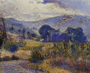 Cabasson Landscape (study) — Анри Эдмон Кросс