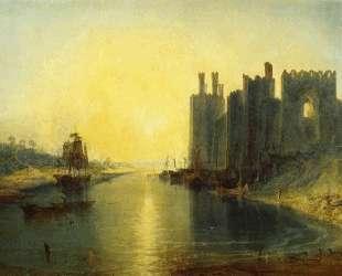 Caernarvon Castle — Уильям Тёрнер