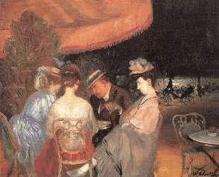 Cafe de la Paix — Уильям Джеймс Глакенс