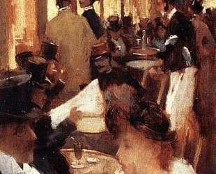 Cafe — Уиллард Меткалф