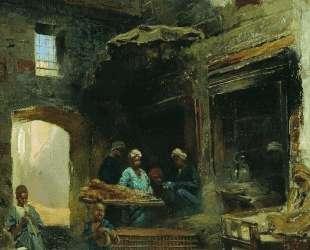 Каирский двор — Константин Маковский