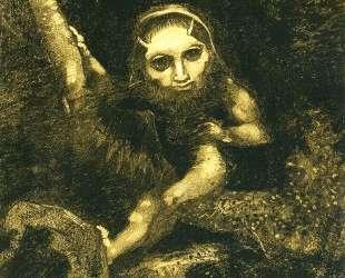 Caliban on a branch — Одилон Редон