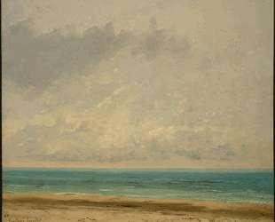 Спокойное море — Гюстав Курбе