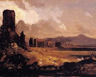 Campagna di Roma (study for Aqueduct near Rome) — Томас Коул