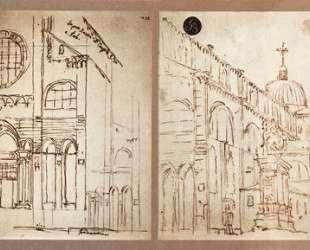 Campo San Giovanni e Paolo in Venice — Каналетто