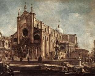 Campo Santi Giovanni e Paolo — Франческо Гварди