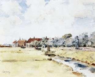 Canal Scene — Чайльд Гассам