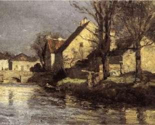 Canal, Schlessheim — Теодор Клемент Стил