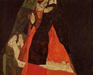Cardinal and Nun (Caress) — Эгон Шиле