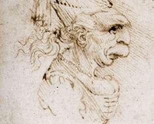 Caricature — Леонардо да Винчи