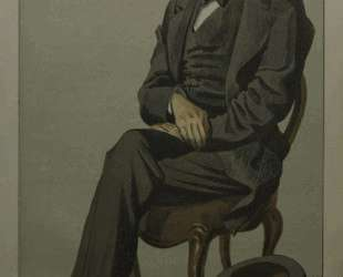 Caricature of Alexander Baillie Cochrane M. P. — Джеймс Тиссо