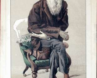 Caricature of Charles Darwin from Vanity Fair magazine — Джеймс Тиссо