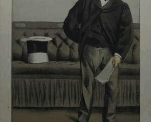 Caricature of George Cavendish Bentinck — Джеймс Тиссо