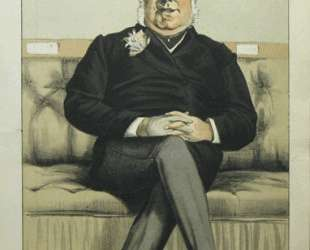 Caricature of Henry William Eaton M. P. — Джеймс Тиссо