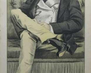 Caricature of Lionel Dawson Damer M. P. — Джеймс Тиссо