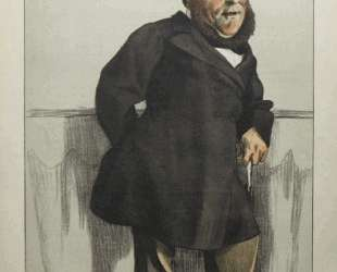 Caricature of William Henry Gregory — Джеймс Тиссо