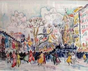 Carnival at Nice — Поль Синьяк